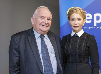 Президент ЄНП Жозеф Доль привітав Юлію Тимошенко з перемогою на виборах в ОТГ