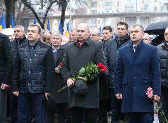 Черкаські партійці вшанували ліквідаторів аварії на Чорнобильській АЕС