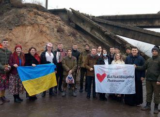 «Батьківщина» Львівщини привітала військових на Сході України із Різдвяними святами