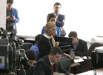 Юлія Тимошенко закликала суд не задовольняти апеляцію прокуратури щодо домашнього арешту Саакашвілі (оновлено)