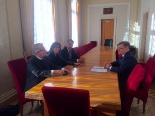Григорій Немиря зустрівся із представниками Європарламенту