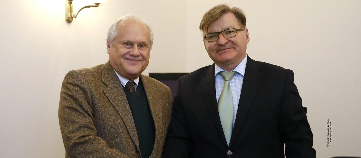 Григорій Немиря зустрівся зі Спецпредставником Голови ОБСЄ у Тристоронній контактній групі