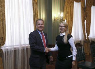 Юлія Тимошенко зустрілася з президентом Українського конгресового комітету Америки, 20.02.2018