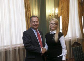 Юлія Тимошенко зустрілася з президентом Українського конгресового комітету Америки