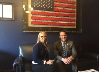 Юлія Тимошенко зустрілася з керівництвом Комітету з питань розвідки Палати представників США