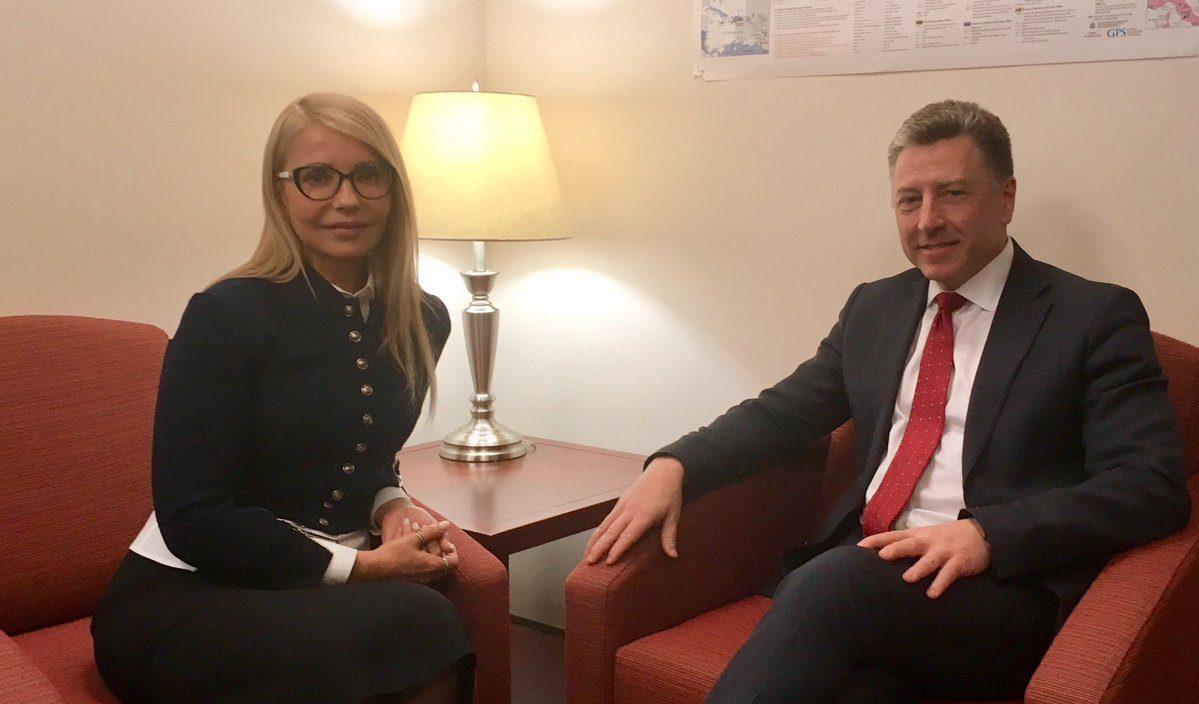 Тимошенко обсудила с депутатами США проблемы украинской коррупции