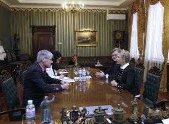 Юлія Тимошенко зустрілася з Головою делегації Міжнародного комітету Червоного Хреста