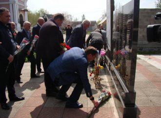 Руслан Богдан на Полтавщині вшанував пам'ять ліквідаторів Чорнобильської аварії