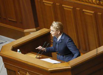 Юлія Тимошенко: Треба припинити шоу навколо громадських активістів та скасувати е-декларування вже сьогодні
