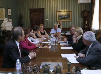Юлія Тимошенко зустрілася з делегацією на чолі з відомим європейським політиком Міет Смет, 15.05.2018