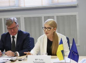 Юлія Тимошенко зустрілася з послами країн ЄС