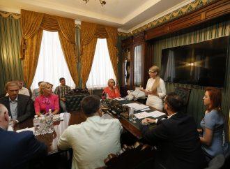 Юлія Тимошенко та депутати «Батьківщини» зустрілися із членами Української Ради Бізнесу, 04.06.2018