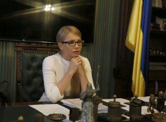 Юлія Тимошенко зустрілася із президентом Міжнародної кризової групи