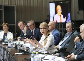 Юлія Тимошенко: Весь інтелект нації має об'єднатися для перетворення України в сильну державу
