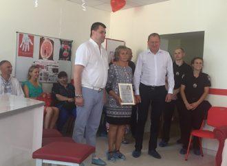 Олександр Лисенко разом з командою «Батьківщини» здав кров для потреб хворих