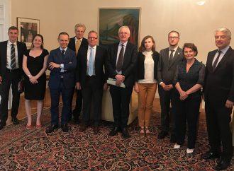 Олексій Рябчин взяв участь у зустрічі з представником ОБСЄ Пером Фішером