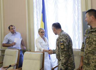 Юлія Тимошенко та депутати «Батьківщини» зустрілися з воїнами АТО, 11.07.2018