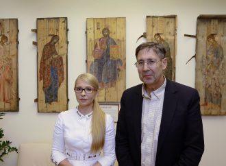 Юлія Тимошенко обговорила з Джоном Гербстом шляхи тиску на Росію, 06.07.2018