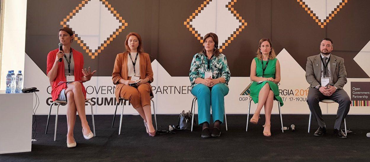Альона Шкрум бере участь у Глобальному Саміті Партнерства «Відкритий Уряд»