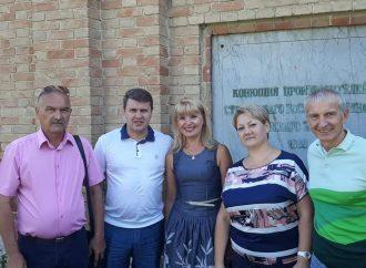 На Луганщині Вадим Івченко провів низку зустрічей з аграріями області