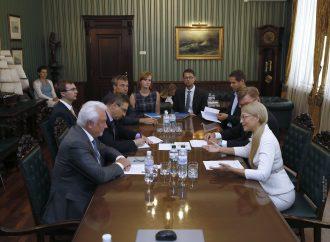 Юлія Тимошенко зустрілася з віце-президентом Бундестагу Німеччини, 04.09.2018