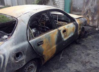 У Херсоні підпалили автомобіль активіста «Батьківщини»