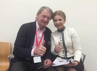 Юлія Тимошенко зустрілася з колишнімиспівпрезидентами Римського клубу