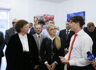 Юлія Тимошенко перебуває з робочим візитом на Житомирщині, 05.10.2018