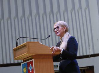 Новий економічний курс – це покроковий план виходу з кризи, – Юлія Тимошенко у Вінниці