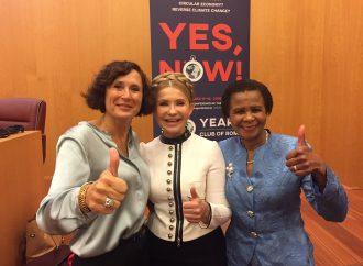 Юлія Тимошенко бере участь у саміті Римського клубу