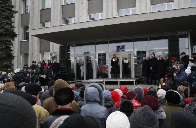 Юлія Тимошенко у м. Сміла на Черкащині, 16.11.2018