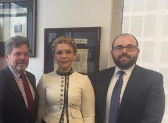 Юлія Тимошенко зустрілася з президентом Фонду захисту демократій