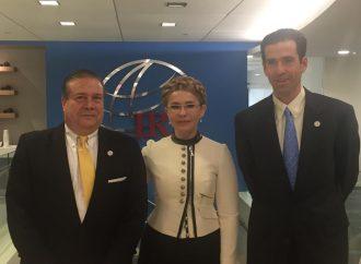 Юлія Тимошенко зустрілася з президентом Міжнародного республіканського інституту