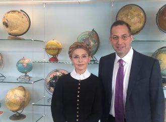 Юлія Тимошенко зустрілася із президентом Національного демократичного інституту