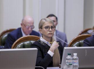 Юлія Тимошенко вимагає продовжити мораторій на продаж землі