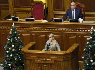 Юлія Тимошенко закликає продовжити мораторій на продаж землі щонайменше на 5 років
