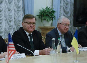 Григорій Немиря та Борис Тарасюк зустрілися з Куртом Волкером