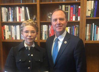 Юлія Тимошенко зустрілася з конгресменом Адамом Шиффом