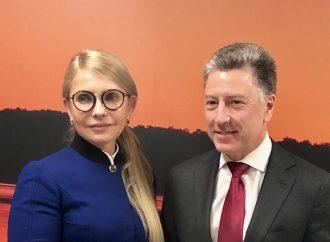 Юлія Тимошенко зустрілася зі спеціальним представником Держдепу США Куртом Волкером