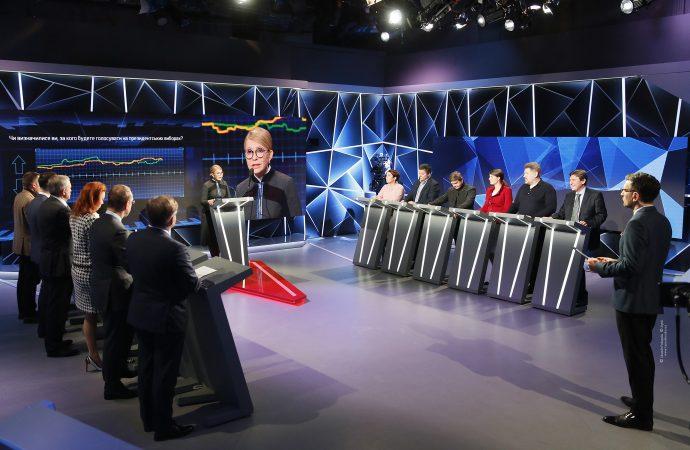 Юлія Тимошенко взяла участь у програмі «Свобода слова» на ICTV