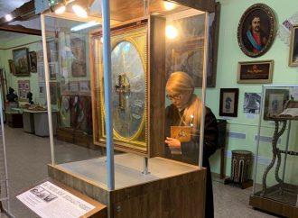 Юлія Тимошенко вклонилася унікальній козацькій іконі