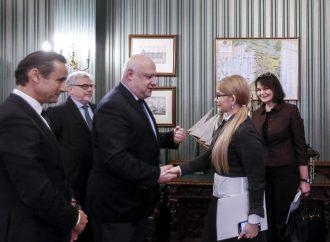 Юлія Тимошенко обговорила загрозу фальсифікації виборів із президентом Парламентської Асамблеї ОБСЄ