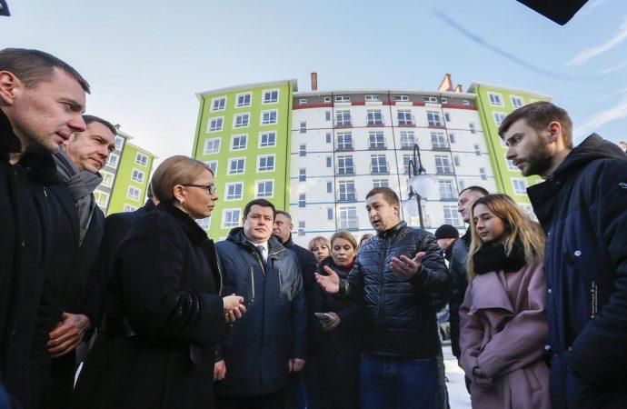 Юлія Тимошенко на Прикарпатті 13-14 лютого 2019 р.