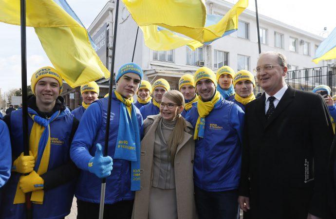 Юлія Тимошенко відвідала Одещину, 21.02.2019