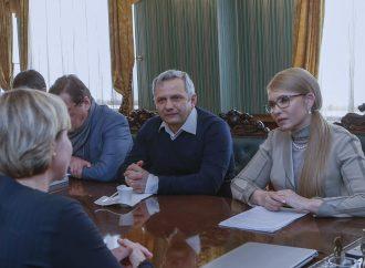 Юлія Тимошенко зустрілася з Директором Світового банку в Україні
