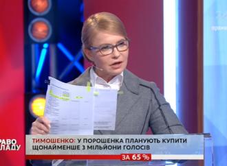 Юлія Тимошенко: За фасадом патріотичних гасел Петро Порошенко підігрує агресору та виконує його умови