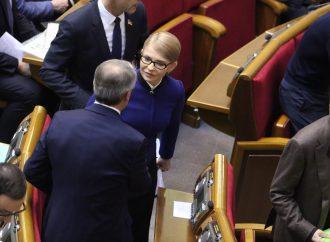 Юлія Тимошенко: Верховна Рада не розглядає питань, які стосуються життя людей