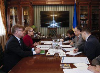 Юлія Тимошенко провела зустріч із Х'югом Мінгареллі, 14.03.2019