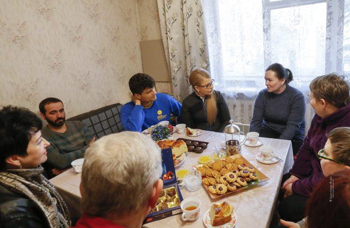 Зустріч з родинами переселенців, 18.03.2019