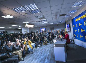Прес-конференція Юлії Тимошенко 2 квітня 2019 р.